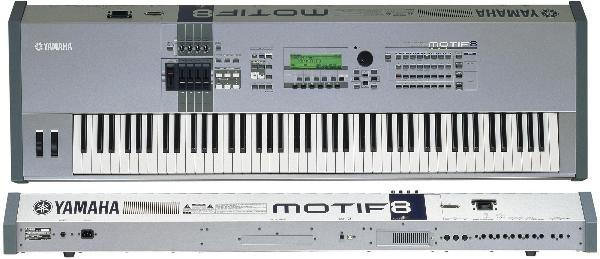 Rent Yamaha Motif